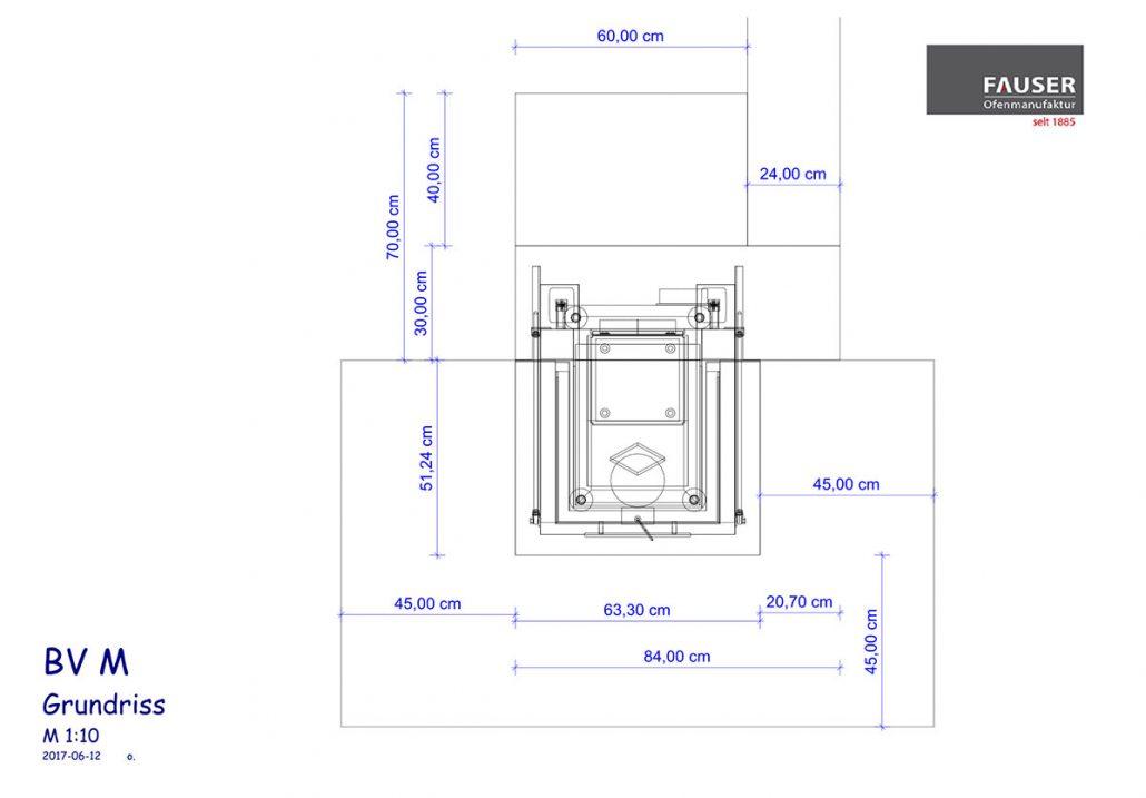 Kaminplanung Dettenhausen: Grundriss