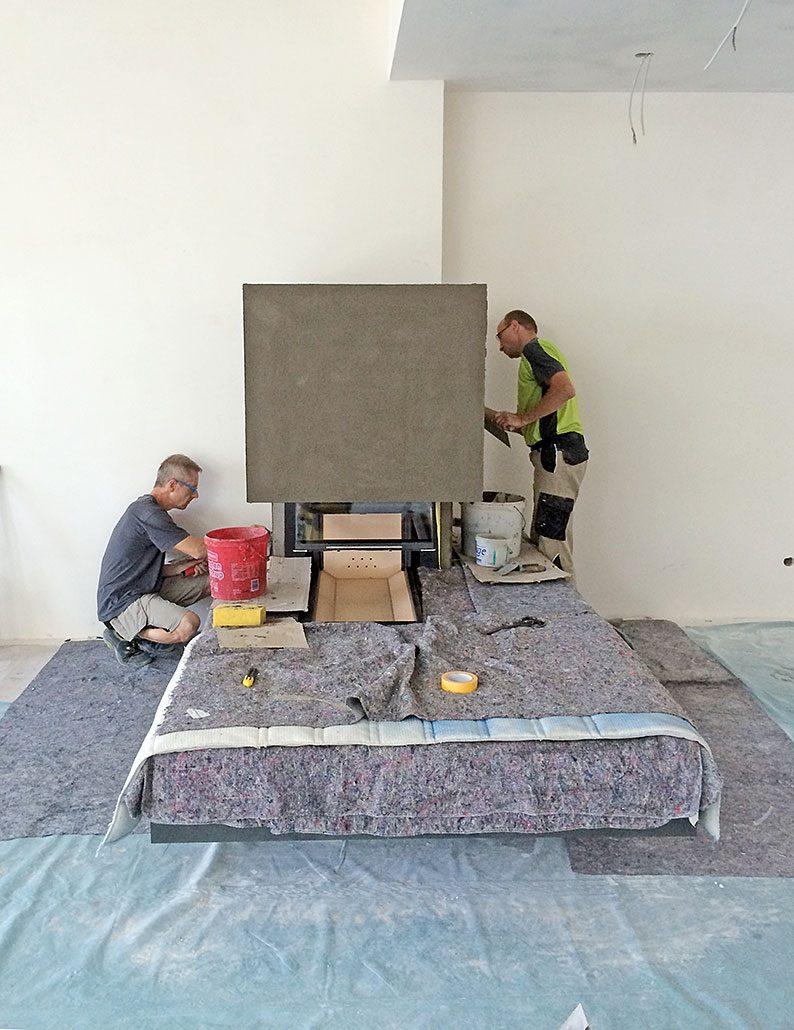 Einbau Kaminanlage Jettenburg 05