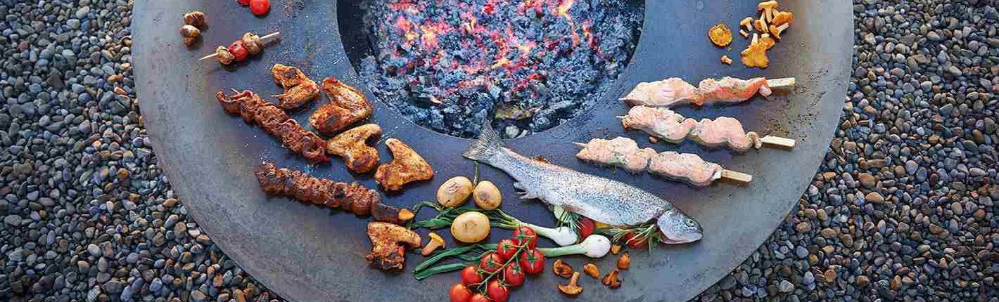 Feuerschale und Grill CIRCLE