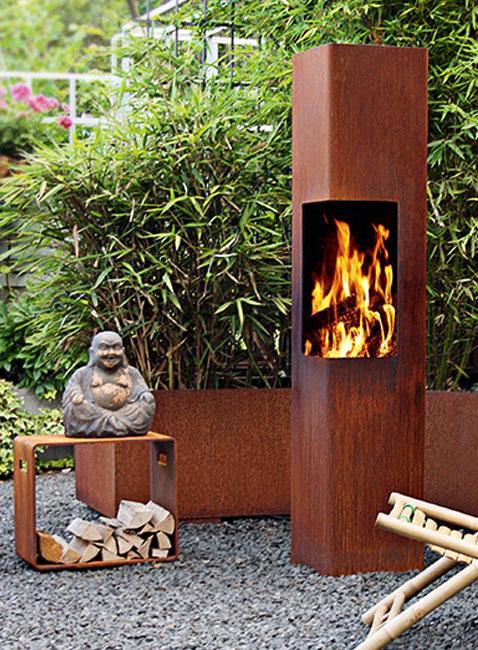 Outdoor Feuerstelle Riton