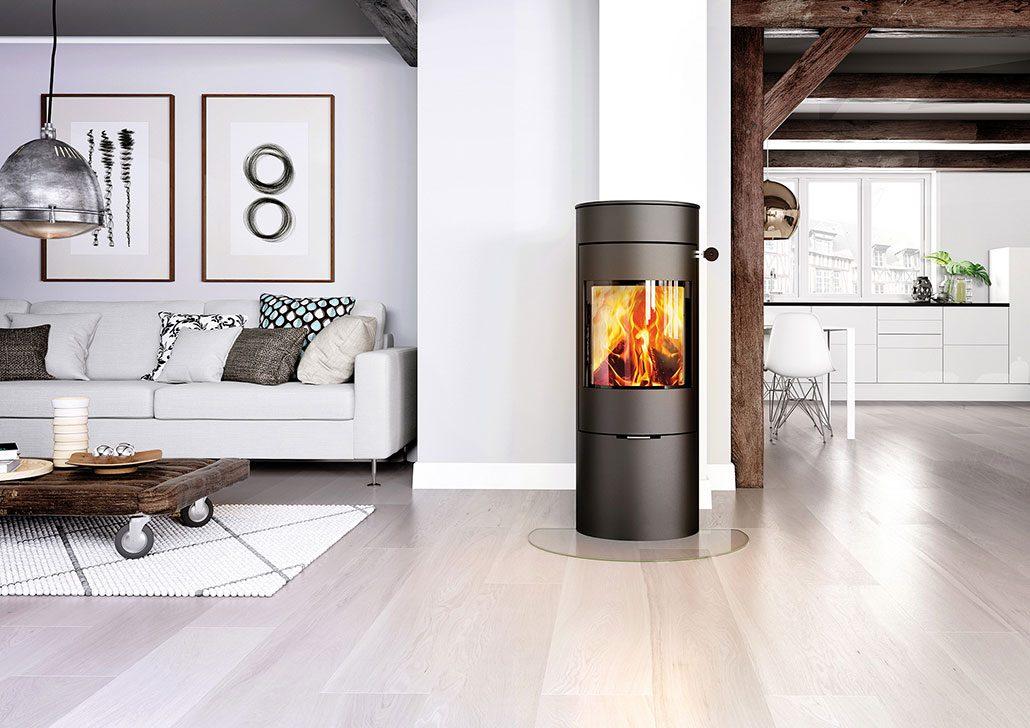 kaminofen viva 120 l fauser ofenmanufaktur t bingen. Black Bedroom Furniture Sets. Home Design Ideas